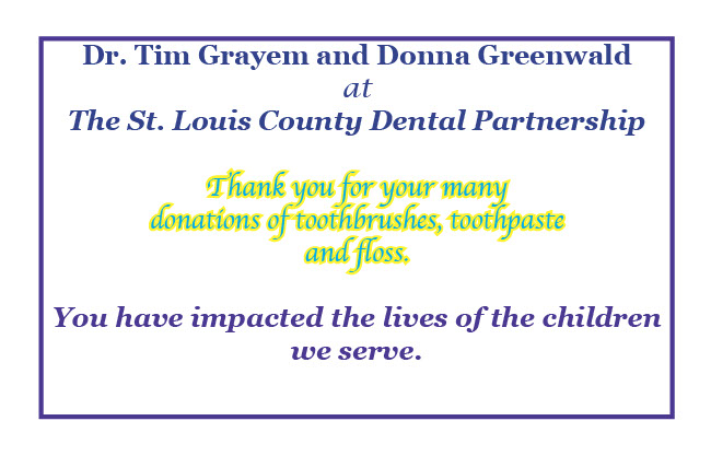 Thank You STL Dental Partnership