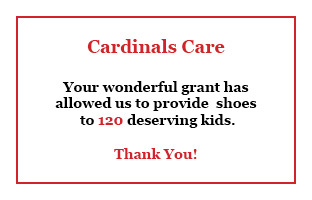 Thank You CardinalsCare